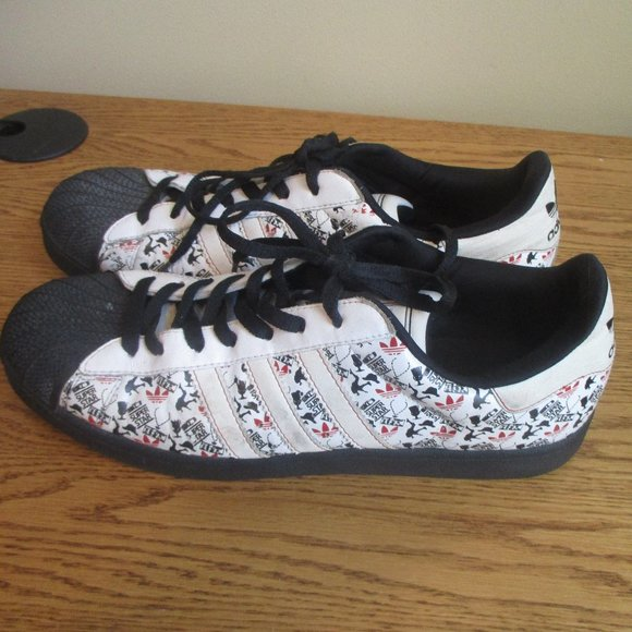 Vintage Adidas Super Star sneakers 2007 size 11
